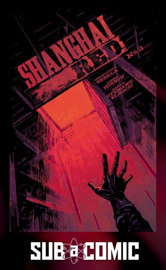 SHANGHAI RED #3 COVER A HIXSON (IMAGE 2018 1st Print)