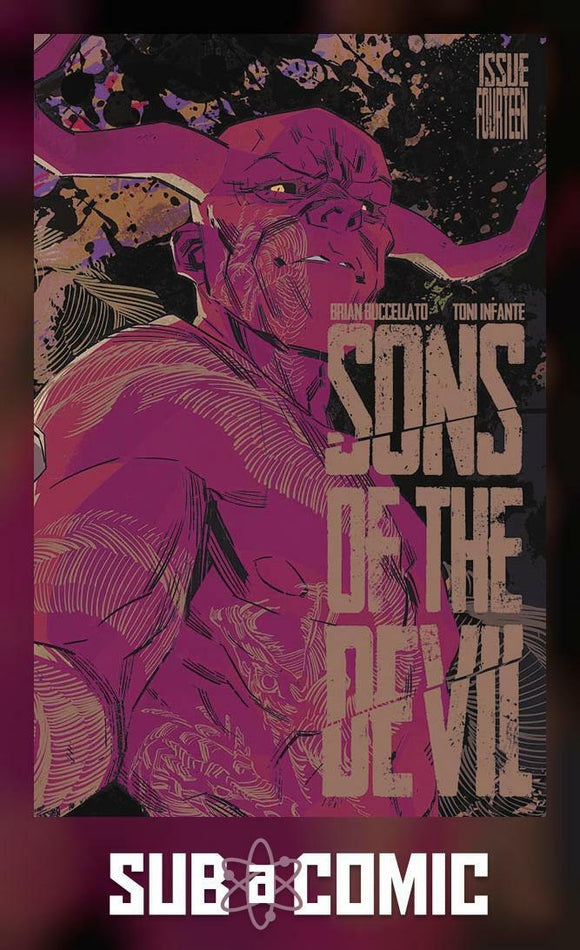 SONS OF THE DEVIL #14 (IMAGE 2017 1st Print) COMIC