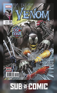 VENOM #150 SANDOVAL (MARVEL 2017 2nd Print) COMIC