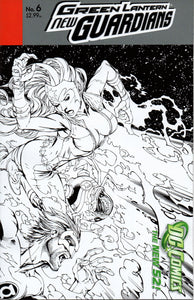 GREEN LANTERN NEW GUARDIANS #6 1:25 VARIANT COVER (DC 2012 1ST PRINT)