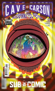 CAVE CARSON HAS A CYBERNETIC EYE #4 (DC 2017 1st Print)