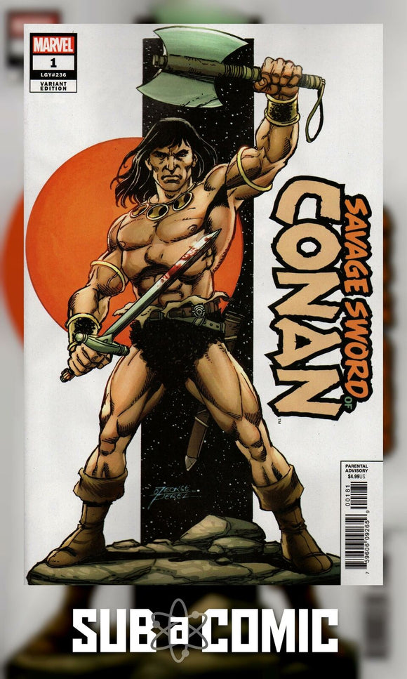 SAVAGE SWORD OF CONAN #1 PEREZ VARIANT (MARVEL 2019 1st Print)