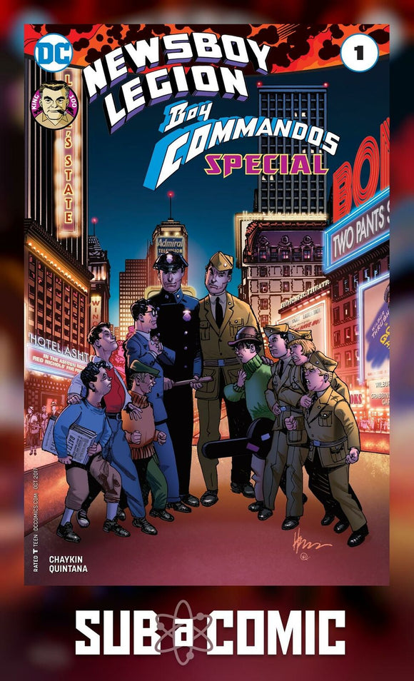 NEWSBOY LEGION & BOY COMMANDOS SPECIAL #1 (DC 2017 1st Print)