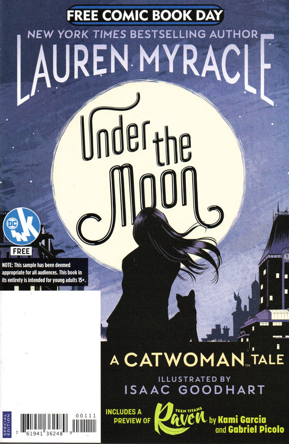 FCBD 2019 UNDER THE MOON A CATWOMAN TALE SPECIAL EDITION (DC COMICS)