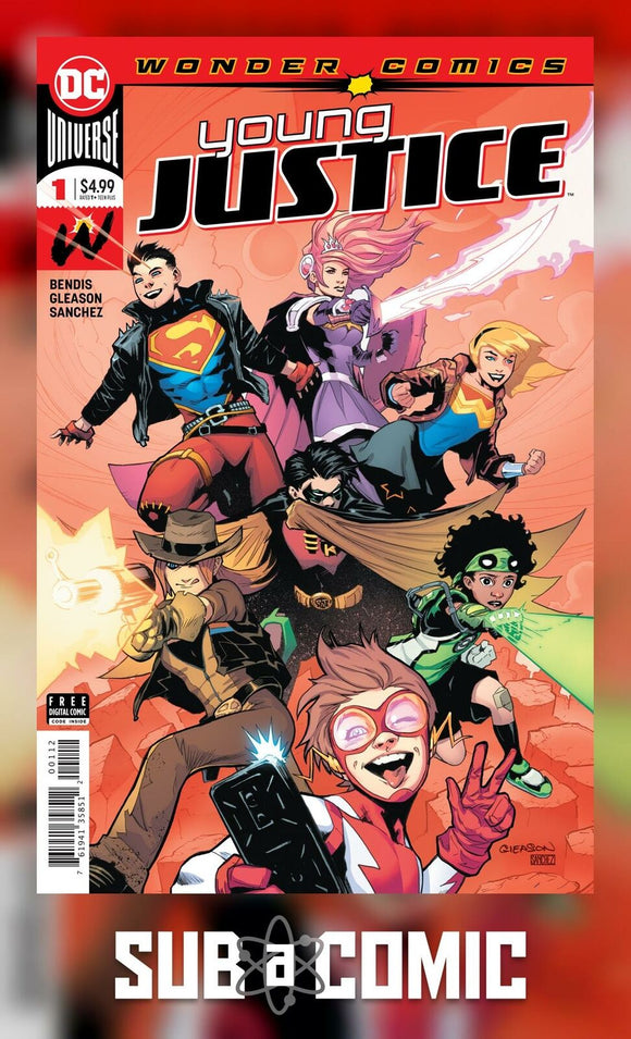 YOUNG JUSTICE #1 (DC 2019 2nd Print)