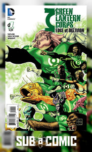 GREEN LANTERN CORPS EDGE OF OBLIVION #1 (DC 2016 1st Print) COMIC