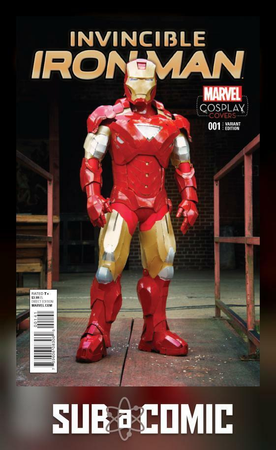 INVINCIBLE IRON MAN #1 COSPLAY VARIANT (MARVEL 2015 1st Print)