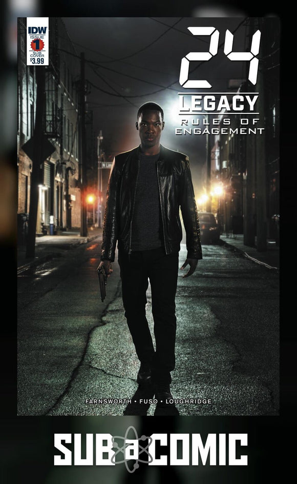 24 LEGACY RULES OF ENGAGEMENT #1 SUB VARIANT (IDW 2017 1st Print)