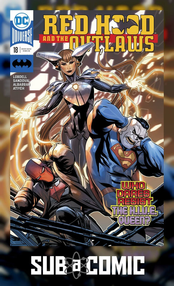 RED HOOD AND THE OUTLAWS #18 (DC 2018 1st Print)