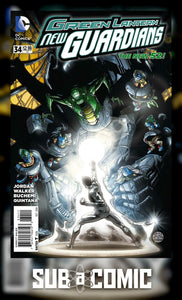 GREEN LANTERN NEW GUARDIANS #34 (DC 2014 1st Print)