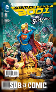 JUSTICE LEAGUE 3001 #2 (DC 2015 1st Print) COMIC