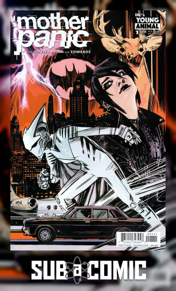 MOTHER PANIC #1 (DC 2016 1st Print)