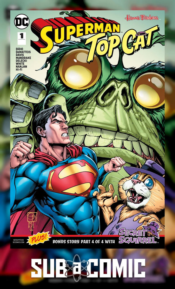 SUPERMAN TOP CAT SPECIAL #1 (DC 2018 1st Print)