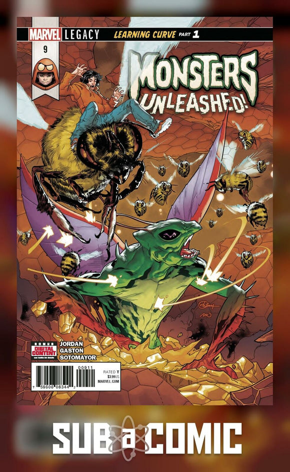 MONSTERS UNLEASHED #9 LEGACY (MARVEL 2017 1st Print)