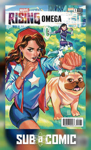 MARVEL RISING OMEGA #1 GONZALES CONNECTING VARIANT (MARVEL 2018 1st Print)