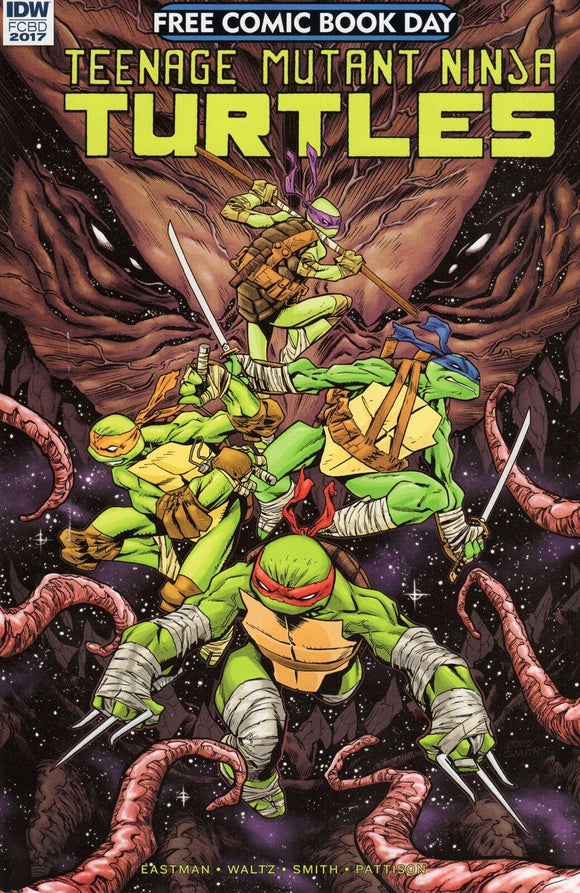 FCBD 2017 TMNT PRELUDE TO DIMENSION X (IDW 2017 1st Print) COMIC