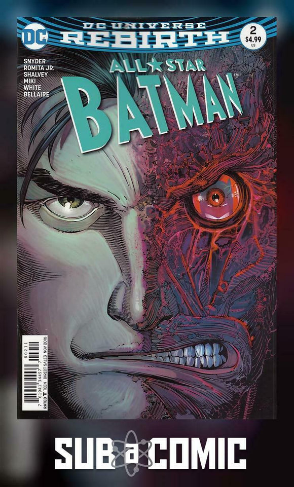 ALL STAR BATMAN #2 (DC 2016 1st Print)