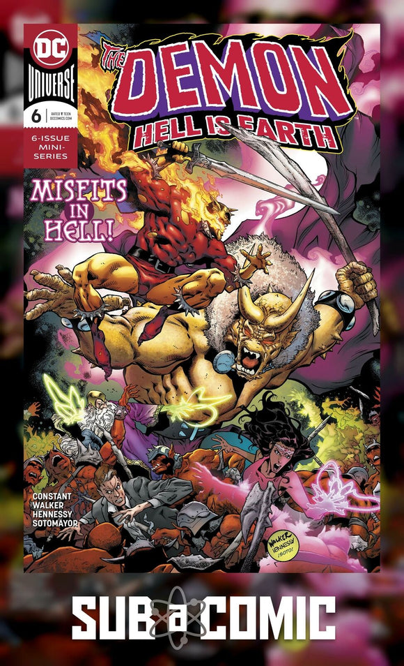 DEMON HELL IS EARTH #6 (DC 2018 1st Print)