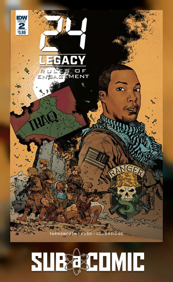 24 LEGACY RULES OF ENGAGEMENT #2 (IDW 2017 1st Print) COMIC