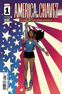 AMERICA CHAVEZ MADE IN USA #1 (MARVEL 2021 1st Print)