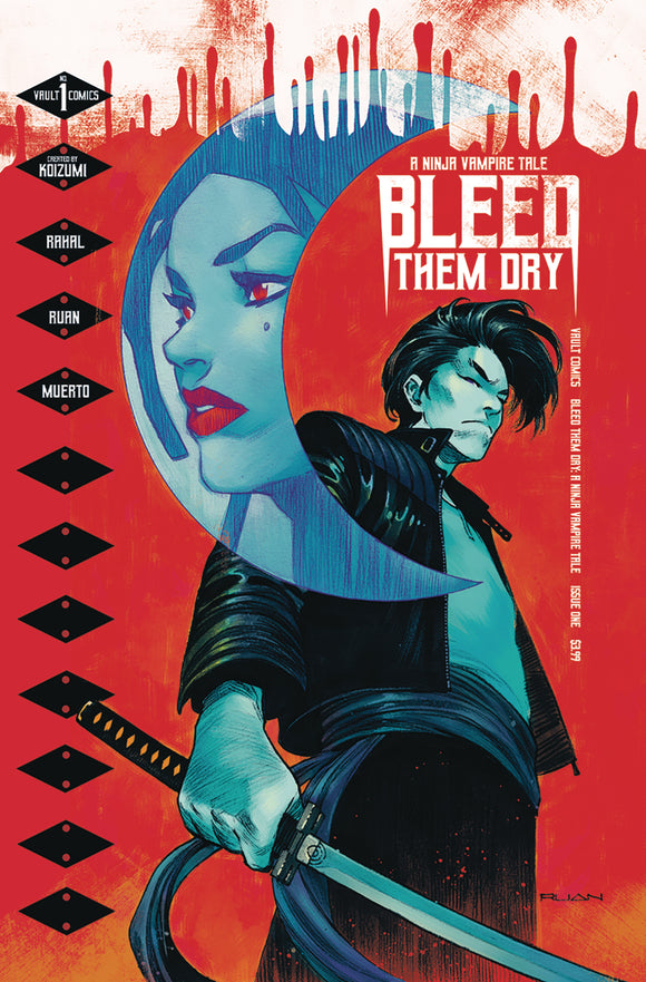 BLEED THEM DRY #1 COVER A (VAULT 2020 1st Print)