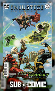INJUSTICE GODS AMONG US YEAR FIVE #19 (DC 2016 1st Print) COMIC