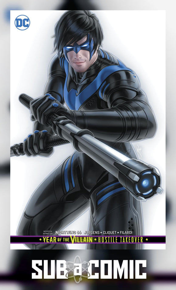 NIGHTWING #66 CARD STOCK VARIANT YOTV (DC 2019 1st Print)