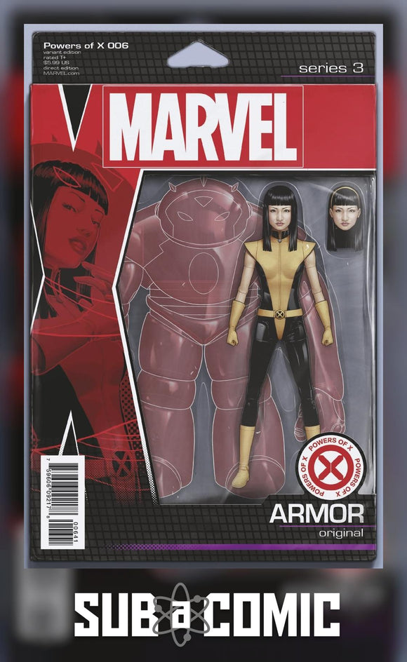 POWERS OF X #6 CHRISTOPHER ACTION FIGURE VARIANT (MARVEL 2019 1st Print)