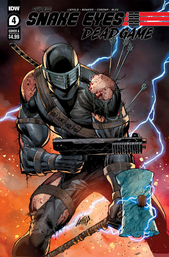 SNAKE EYES DEADGAME #4 COVER A (IDW 2021 1st Print)
