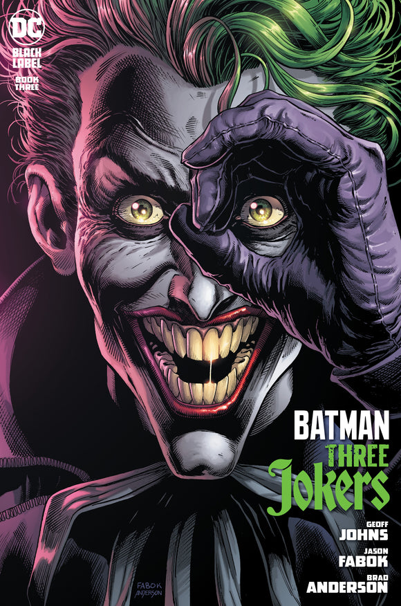 BATMAN THREE JOKERS #3 (DC 2020 1st Print)