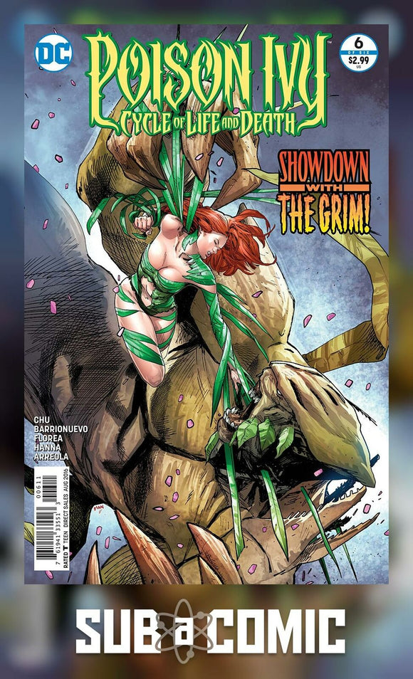 POISON IVY CYCLE OF LIFE AND DEATH #6 (DC 2016 1st Print)
