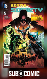 EARTH 2 SOCIETY #11 (DC 2016 1st Print)