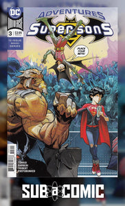 ADVENTURES OF THE SUPER SONS #3 (DC 2018 1st Print)