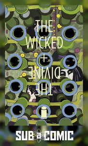 WICKED & DIVINE #27 COVER B SAMPSON (IMAGE 2017 1st Print)