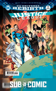 JUSTICE LEAGUE #14 VARIANT (DC 2017 1ST PRINT) COMIC