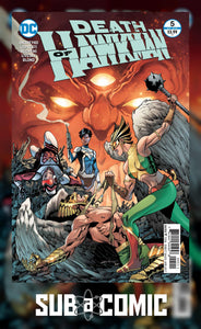 DEATH OF HAWKMAN #5 (DC 2017 1ST PRINT) COMIC