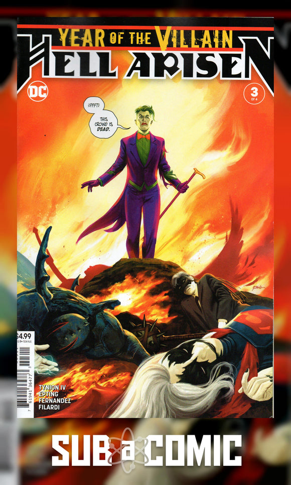 YEAR OF THE VILLAIN HELL ARISEN #3 (DC 2020 1st Print)