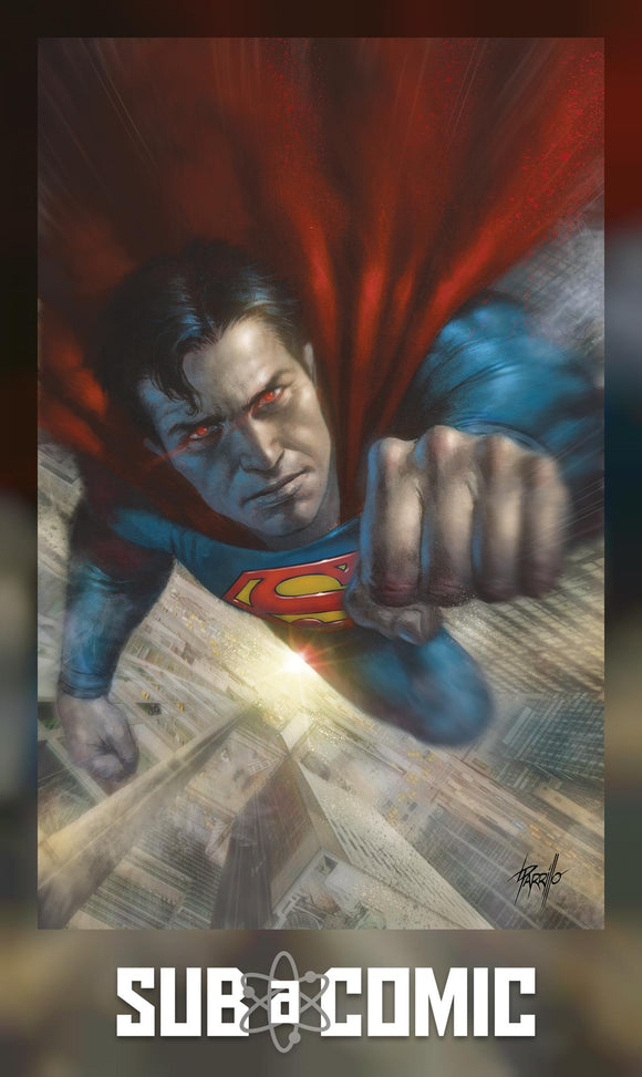 ACTION COMICS #1020 CARD STOCK LUCIO PARRILLO VARIANT (DC 2020 1st Print)