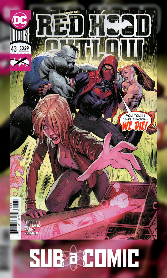 RED HOOD OUTLAW #43 (DC 2020 1st Print)
