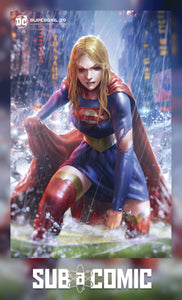 SUPERGIRL #39 CARD STOCK DERRICK CHEW VARIANT (DC 2020 1st Print)