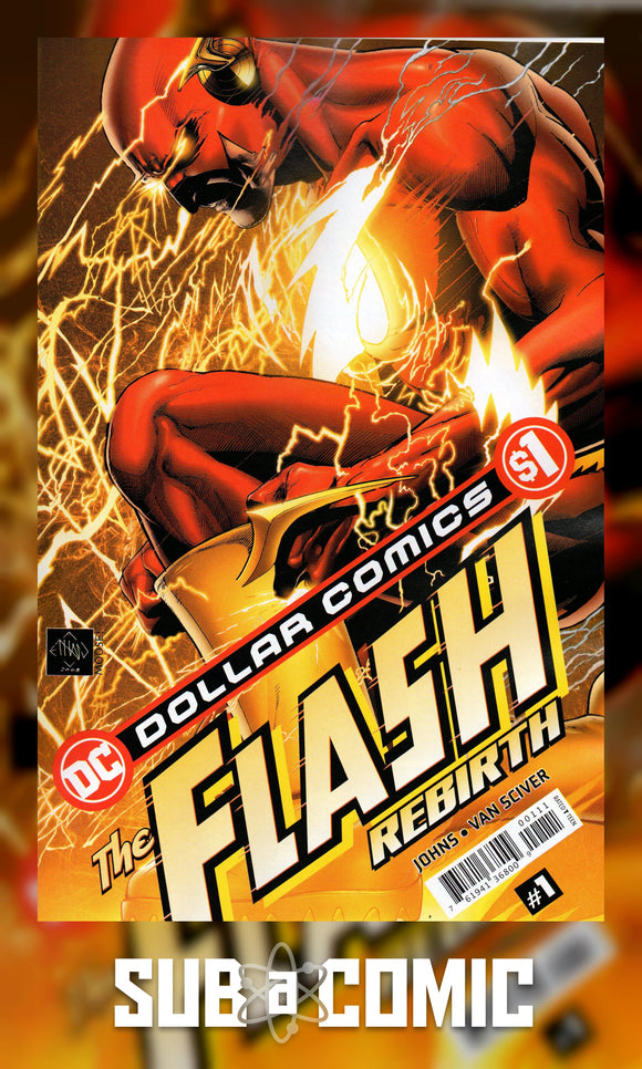 DOLLAR COMICS FLASH REBIRTH #1 (DC 2020 1st Print)