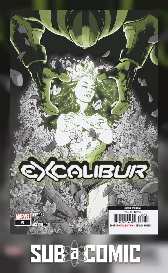 EXCALIBUR #5 (MARVEL 2020 2nd Print)