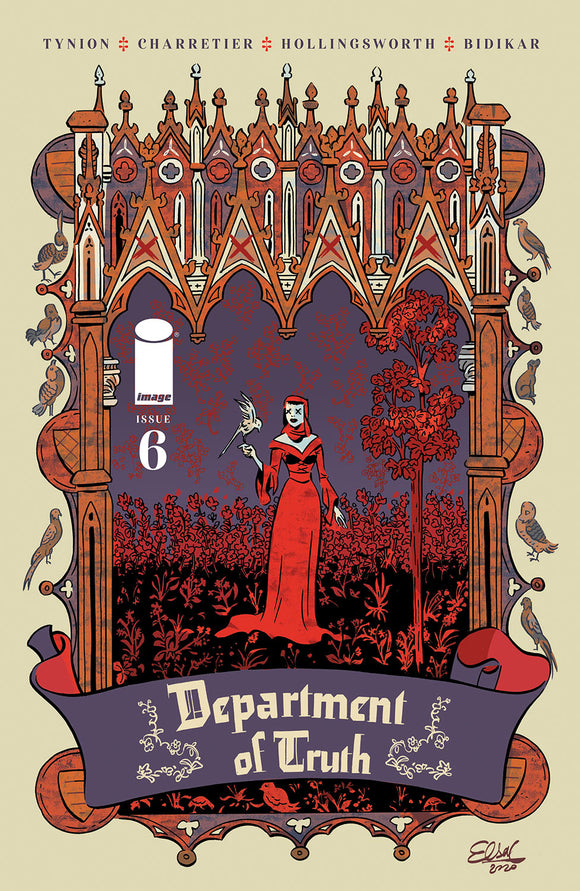 DEPARTMENT OF TRUTH #6 COVER B (IMAGE 2021 1st Print)