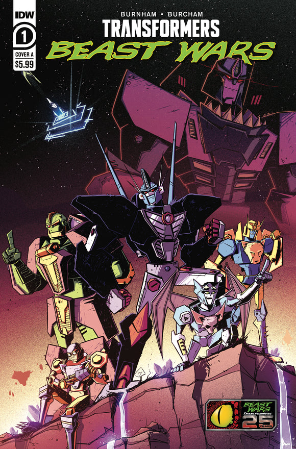 TRANSFORMERS BEAST WARS #1 COVER A (IDW 2021 1st Print)
