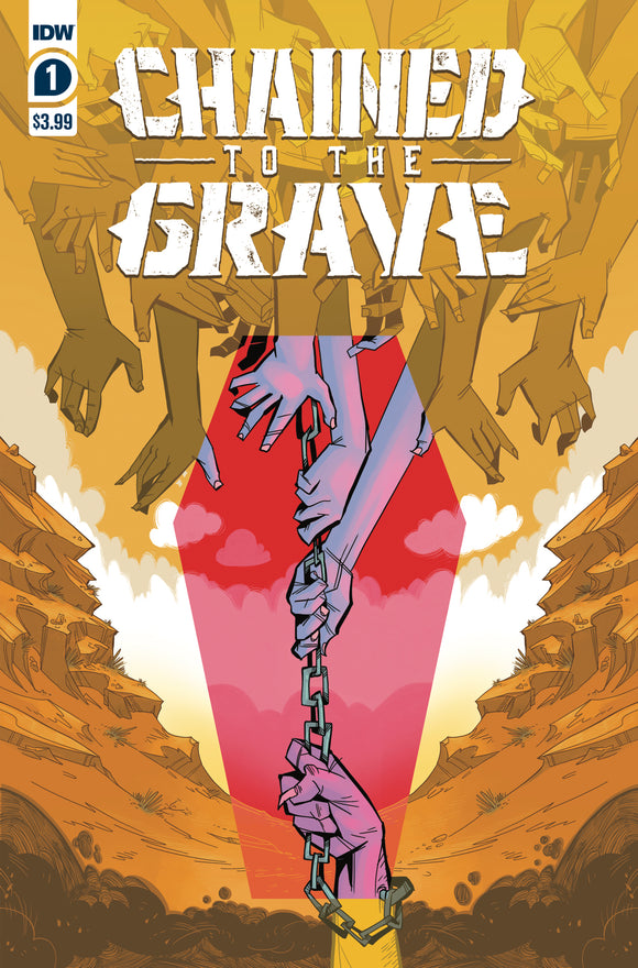 CHAINED TO THE GRAVE #1 COVER A (IDW 2021 1st Print)