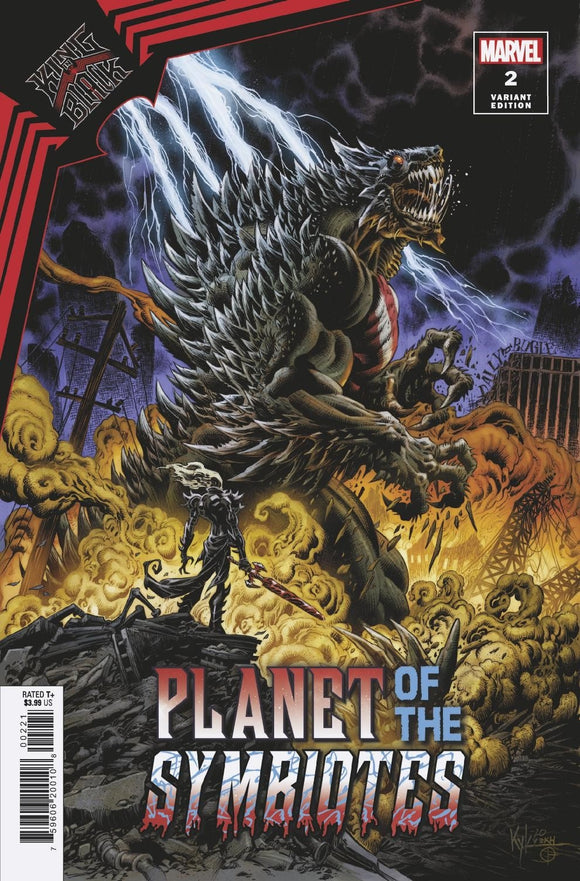KING IN BLACK PLANET OF SYMBIOTES #2 HOTZ VARIANT (MARVEL 2021 1st Print)