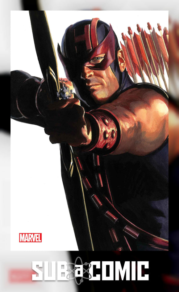 AVENGERS #42 ALEX ROSS HAWKEYE TIMELESS VIRGIN VARIANT (MARVEL 2021 1st Print)