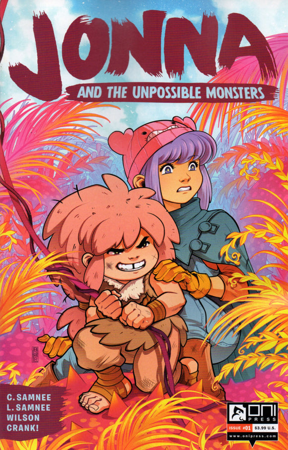 JONNA AND THE UNPOSSIBLE MONSTERS #1 COVER D (ONI PRESS 2021 1st Print)