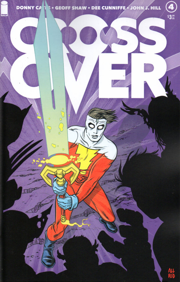 CROSSOVER #4 COVER B (IMAGE 2021 1st Print)