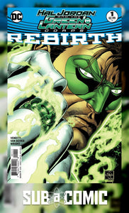 HAL JORDAN AND THE GREEN LANTERN CORPS REBIRTH #1 (DC 2016 1ST PRINT) COMIC